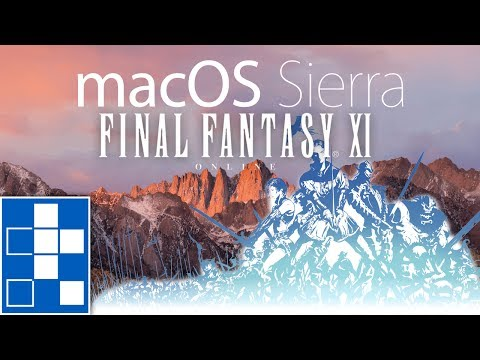 Final Fantasy XI (FF11)dual boxing on a single MacBookPro by