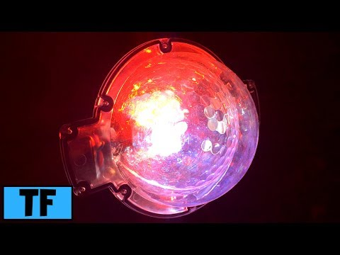 Home Depot LED Snowflurry Projection AppLight Lightshow on House Review