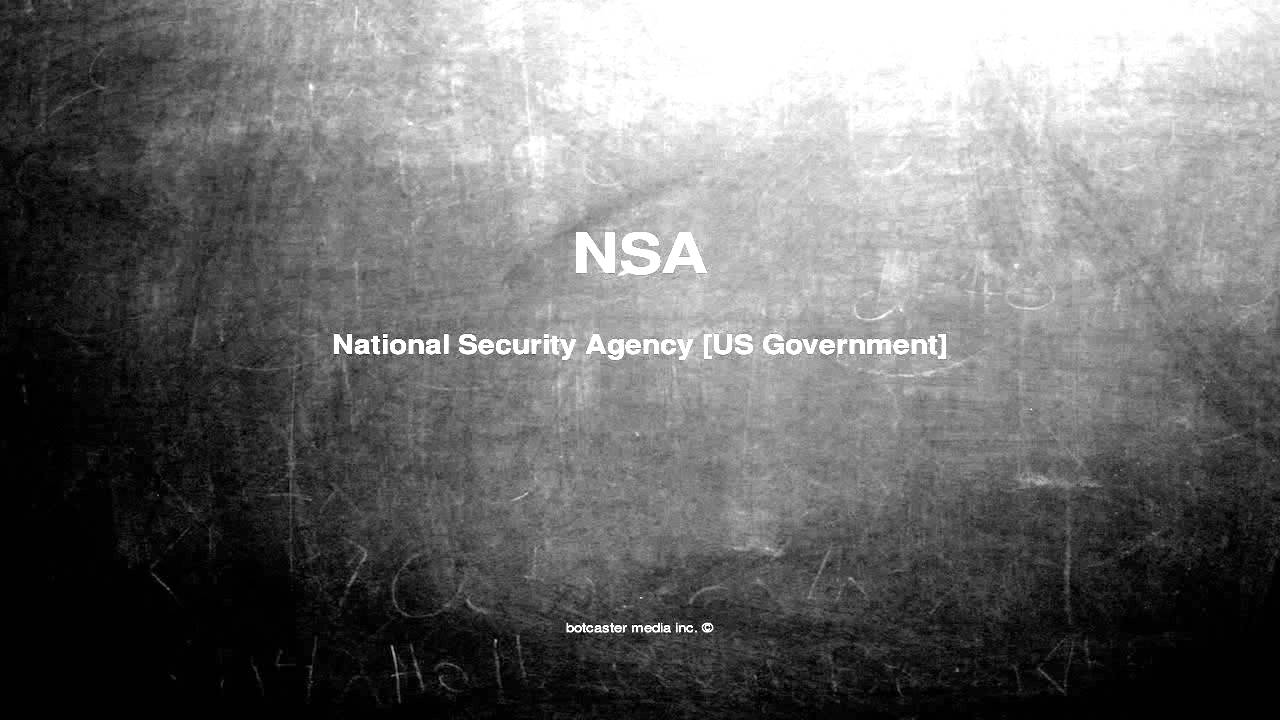 What is nsa mean on craigslist
