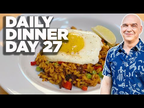 Cook Along with Michael Symon | Vegetable Paella on the Grill | Daily Dinner Day 27