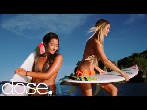 Top 5 Surf Spots by Hot Surfer Girls Kelia Moniz and Monyca Byrne-Wickey
