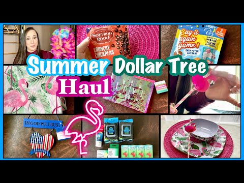 Huge SUMMER Dollar Tree HAUL ~ May 2019