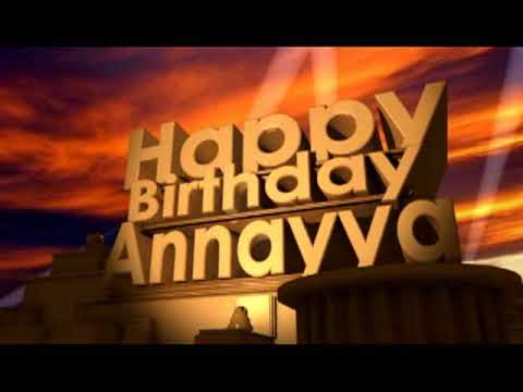 happy birthday annayya
