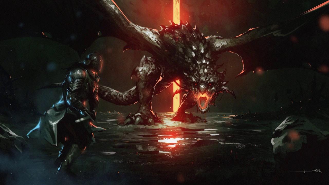 Epic Score - Dragons At The Gate (2017 - Tarek Mansur - Dark Epic Action)
