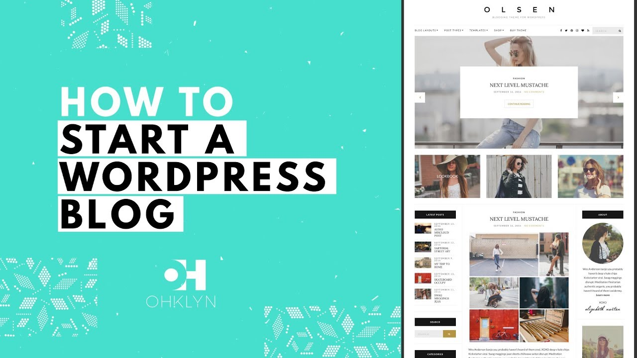 How to Start a WordPress Blog | Blog Tutorial for ...