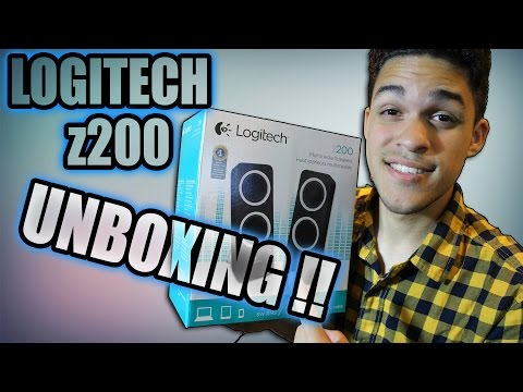 Logitech z200 Desktop Speaker Unboxing !!