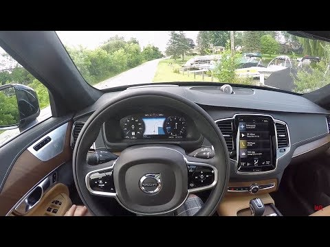 2018 Volvo XC90 T6 AWD Inscription - POV Test Drive & Review