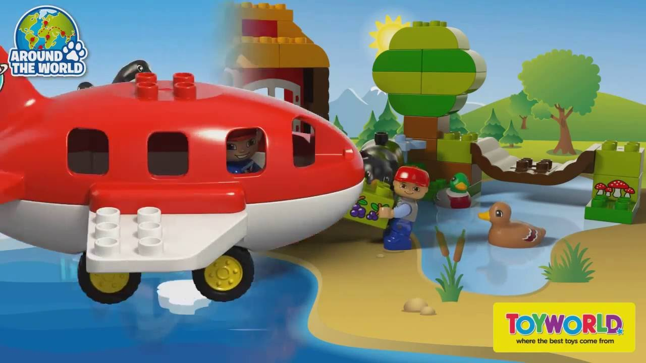 Toyworld Nz Lego Duplo Around The World 10805 Youtube