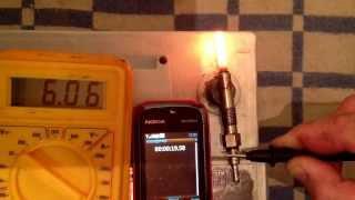 Тестирование свечей накала beru и bosh