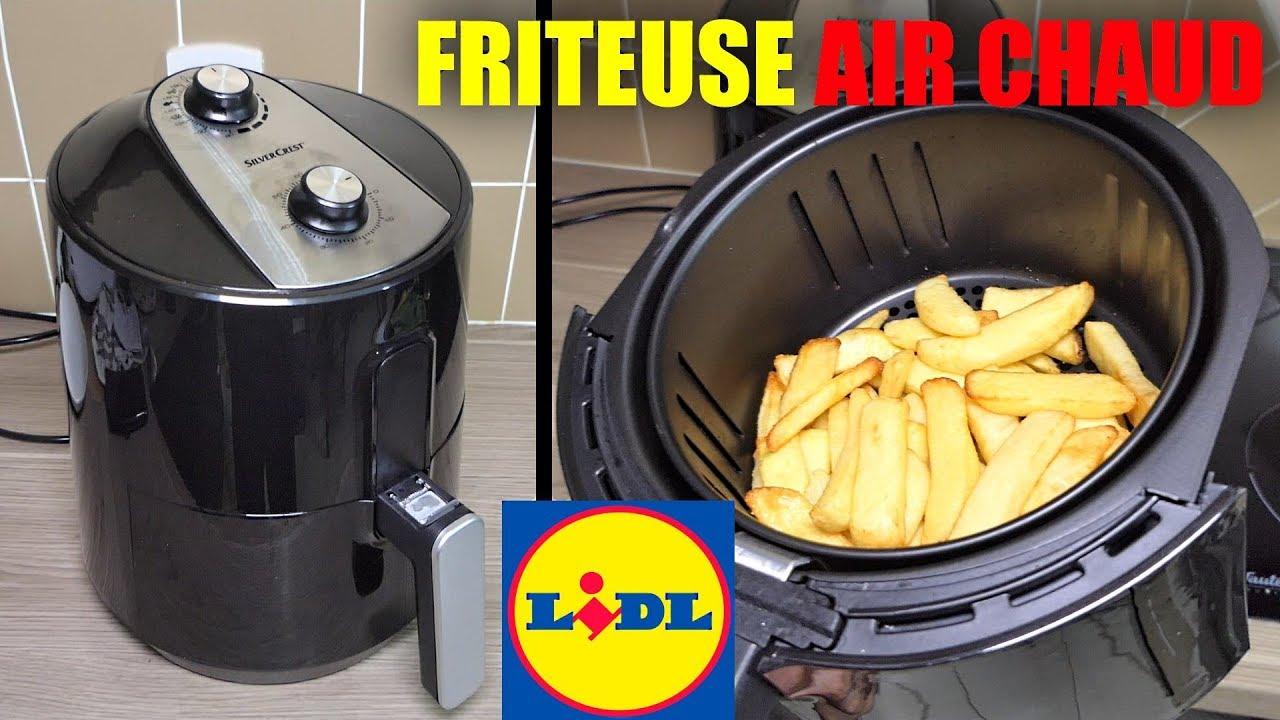 Friteuse à air chaud LIDL SILVERCREST SHF 1500 B1 Hot Air Fryer Heißluft-Fritteuse