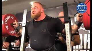 Hafthor Bjornsonn - 1100 kg (2425 lbs) Total - Thor's Powerlifting Challenge
