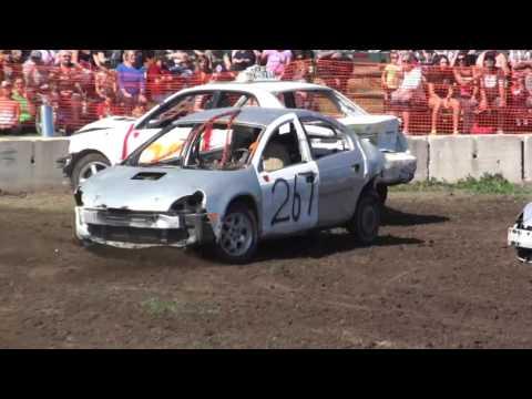 Forest Fair Demolition Derby 2016 | 4 Cylinder
