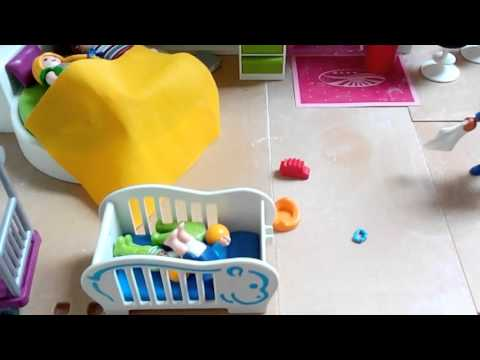 Meine neue einrichtung f r mein playmobil haus youtube for Playmobil haus schlafzimmer