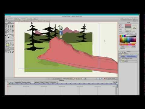 Physics in Animation - How to Apply Physics in Anime Studio