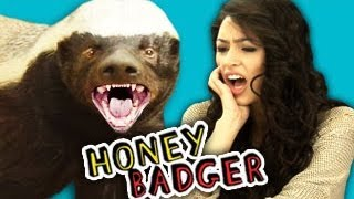 Teens React to the Honey Badger (ft. Alex Steele!)