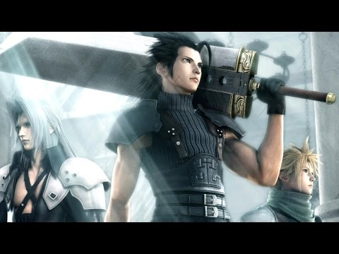 Crisis Core: Final Fantasy VII All Cutscenes (Game Movie) 1080p HD