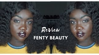 Fenty Beauty Review | First Impression | Darkest Foundation Shade 490