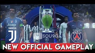 Fifa 19 - official gameplay juventus vs psg - uefa champions league final