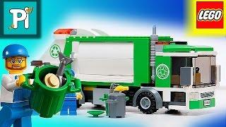 как из лего сделать мусоровоз