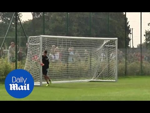 Can't save 'em? Move the posts! Courtois gets creative (archive) - Daily Mail