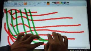 Multi-Touch : Ten Finger Draw