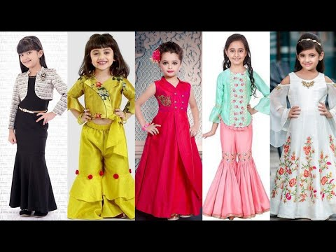 Trending Baby girl party wear dress collections