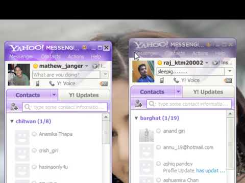 how to join chat room in yahoo messenger new version
