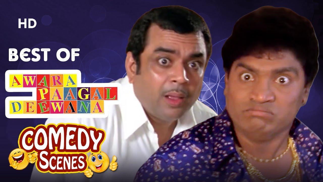 Best of Comedy Scenes - Movie Awara Paagal Deewana - Johnny Lever - Akshay Kumar - Paresh Rawal