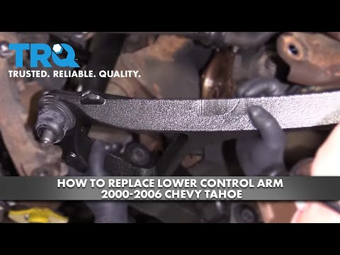 How to Replace Lower Control Arm 2000-06 Chevy Tahoe