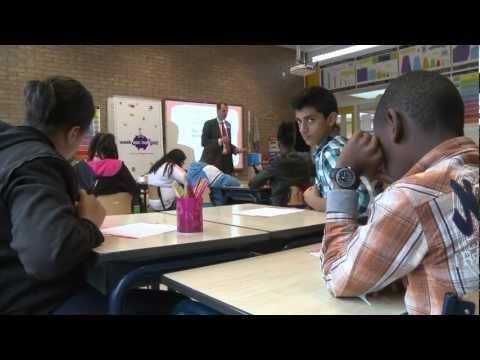De Nederlandsche Bank geeft gastles op basisschool Samenspel in Amsterdam Zuid Oost