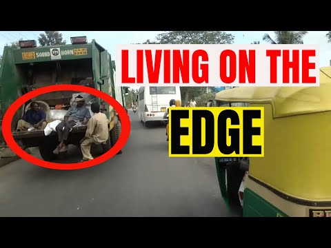 India | Bangalore|The most chaotic driving I have ever witnessed | Living on the edge