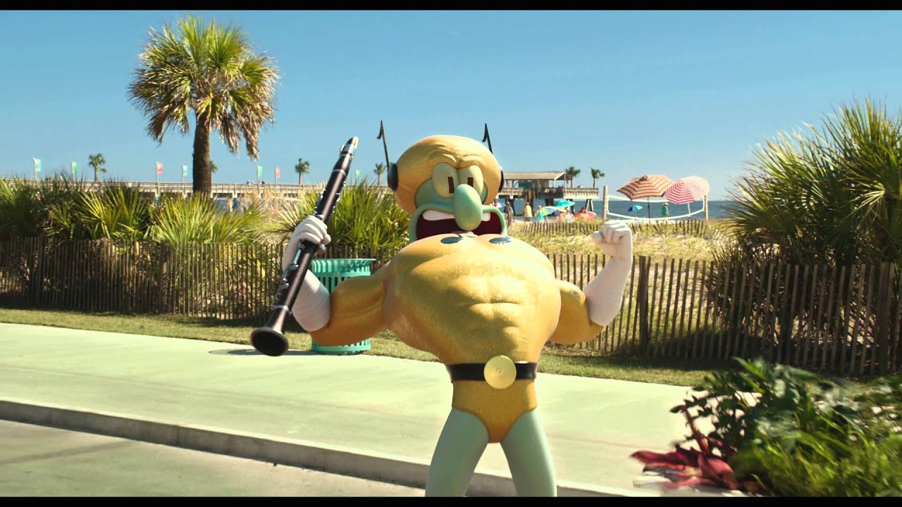 The Spongebob Movie Sponge Out Of Water Clip Super Powers Paramount Pictures International