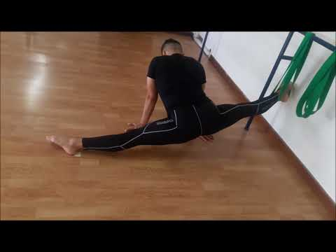 how to get middle split..spagat beginner
