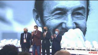 Felipe González y Zapatero, protagonistas en el 40º Congreso del PSOE