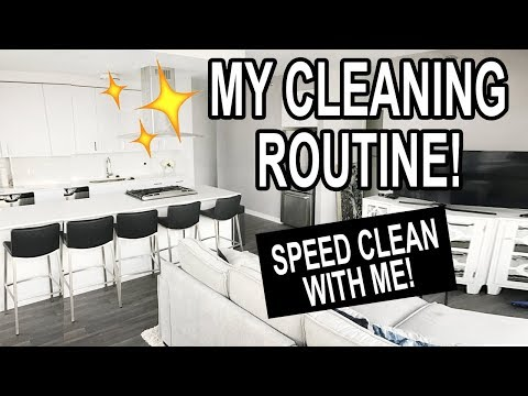MY CLEANING ROUTINE: SPEED CLEAN MY HOME WITH ME!