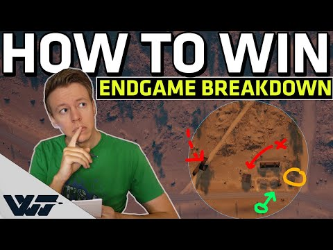 HOW TO WIN IN SOLO PUBG - Breaking down the endgame TIPS/TRICKS