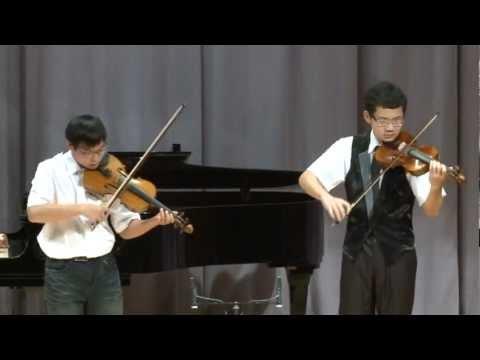 巴哈:D小調雙小提琴協奏曲第一樂章 - YouTube