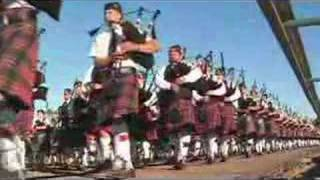 The 2007 Pleasanton Massed Pipe Band