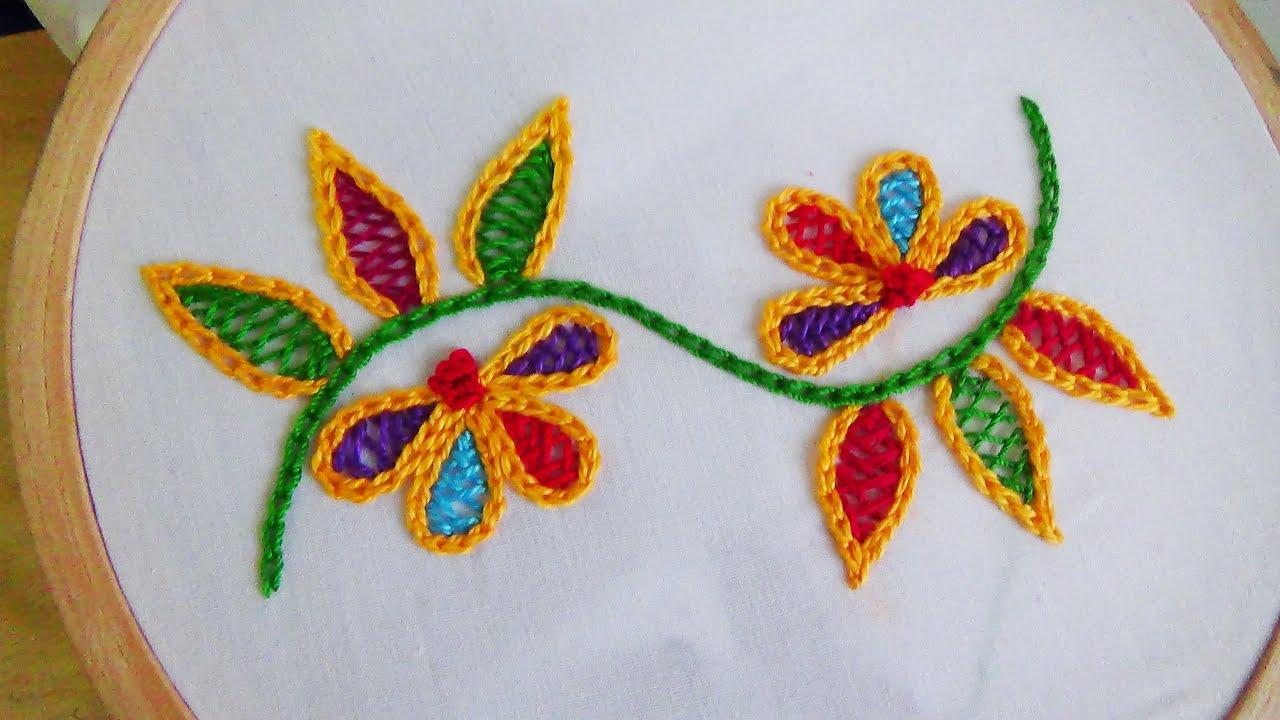 Hand Embroidery Wine Stitch You