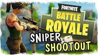 FORTNITE SNIPER SHOOTOUT + UUS SNIPU