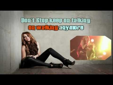 miley cyrus liberty walk karaoke HD