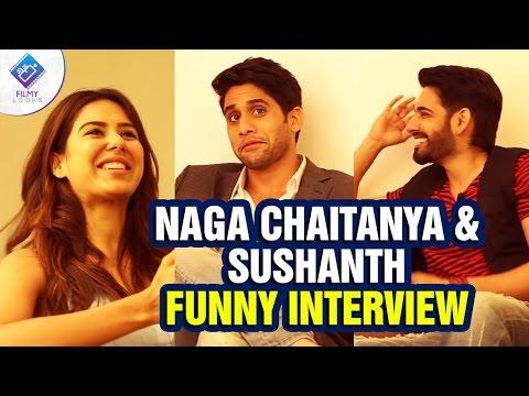 Naga Chaitanya & Sushanth Funny Interview | Aatadukundam Raa Movie | Sonam Bajwa