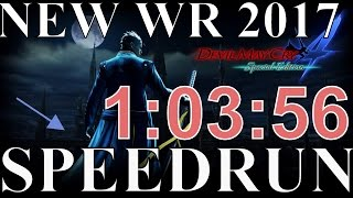 Devil May Cry 4: Special Edition New Game Vergil SPEEDRUN (1:04:02) WR 2017 PS4/PC/XBOX