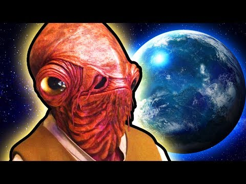 Top 10 Underwater Planets in Star Wars | TGN