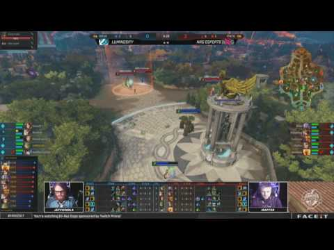 SWC 2017 - Semifinals Luminosity vs. NRG Esports Game 1