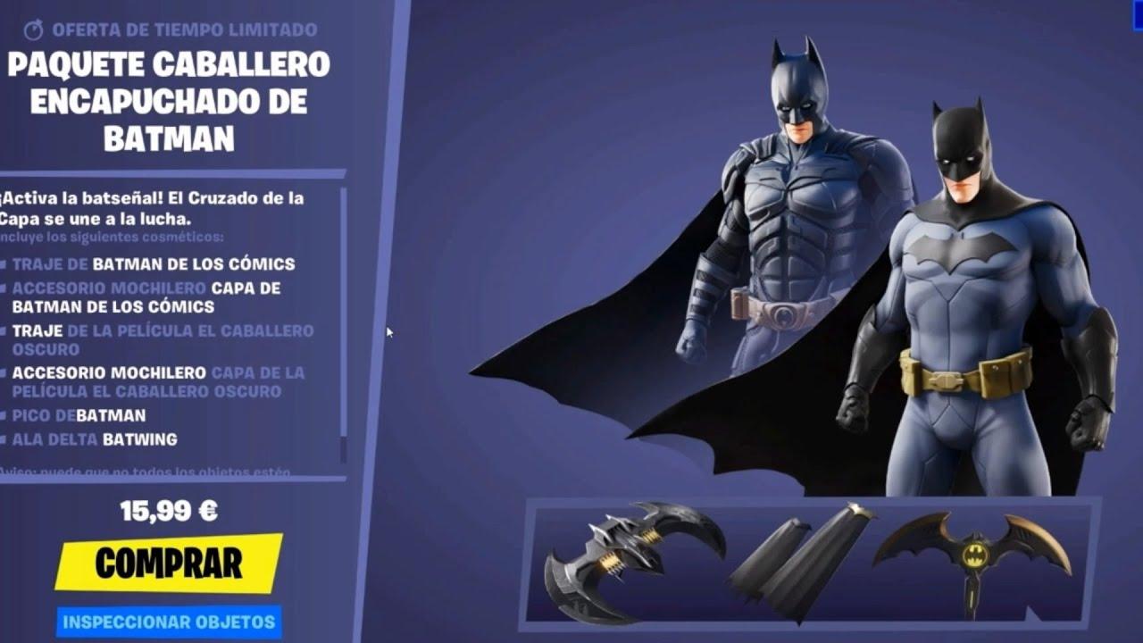 Fortnite Batman Sale Vuelve Pack De Batman Caballero Encapuchado Nueva Tienda Fortnite X Dc Hoy 15 De Agosto Del 2020 Youtube