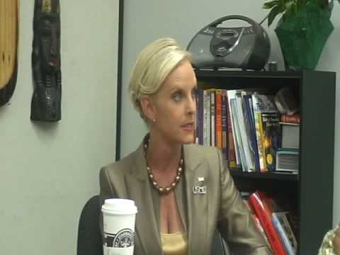 Interview with Cindy McCain
