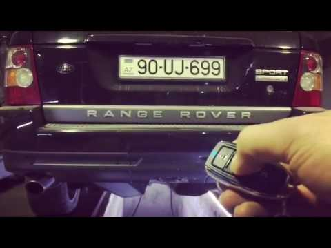 Range Rover Sport 4.2 V8 Supercharged, Kumandalı Cutout Egzoz Sesi