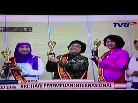 Awards Ceremony Celebrating International Women's Day in National TV