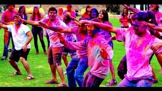Bollywood FLASH MOB | HOLI at CU Festival of Colors at University of Colorado Boulder (CU Boulder)